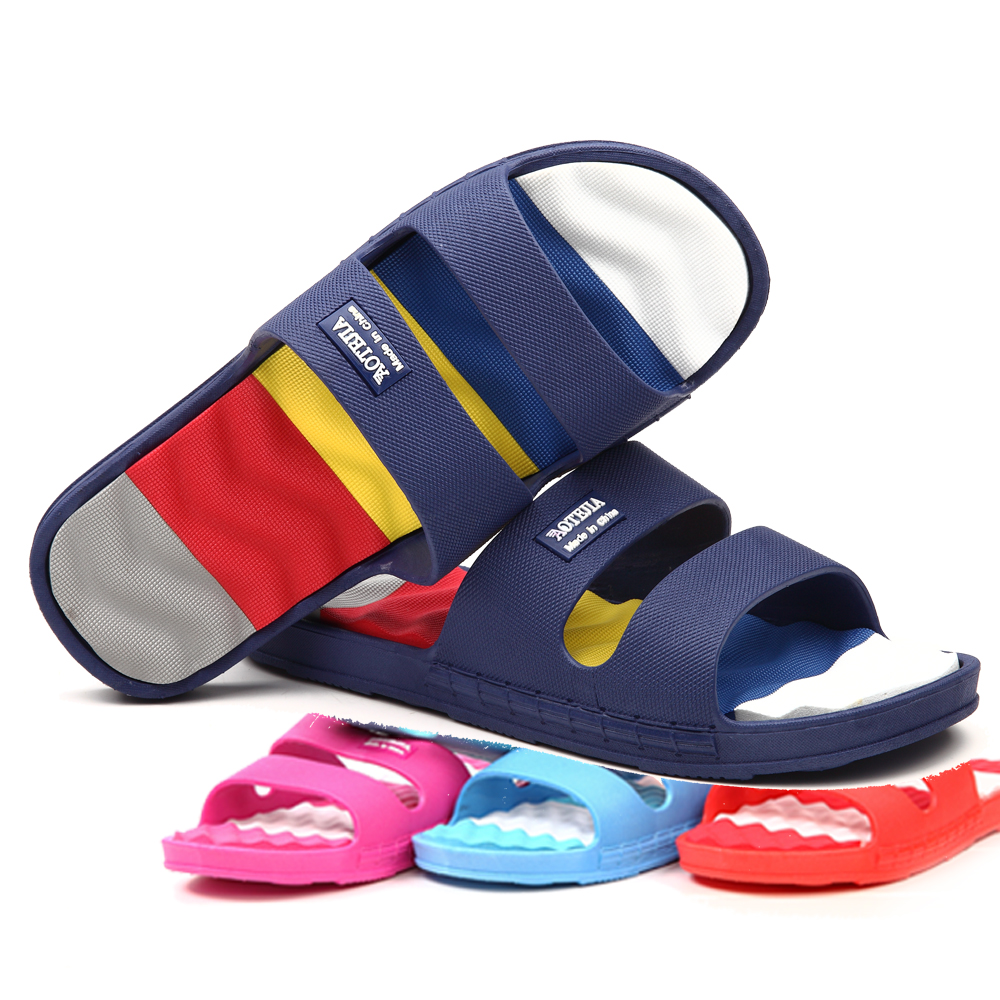 Cool summer slippers couple plastic slip bath bathroom slippers home slippers summer slippers for men and women 430