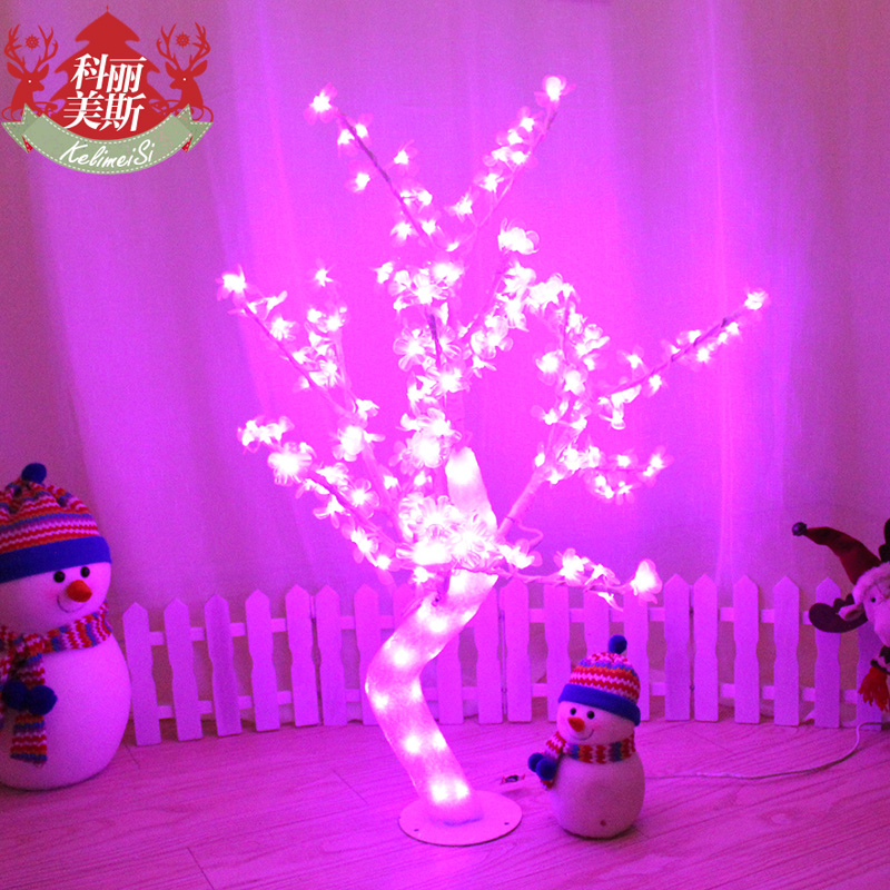 Cory gomez gum drops crystal led light christmas tree christmas decorations cold-tolerance waterproof luminous lantern tree