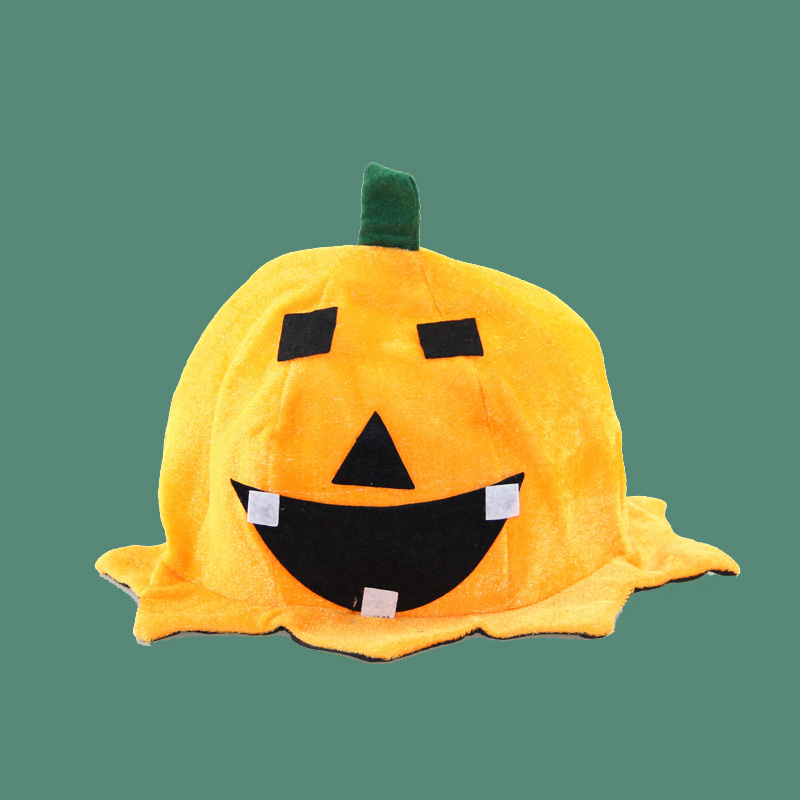 Cos halloween decorations supplies dress halloween witch hat pumpkin hat children's performances cap