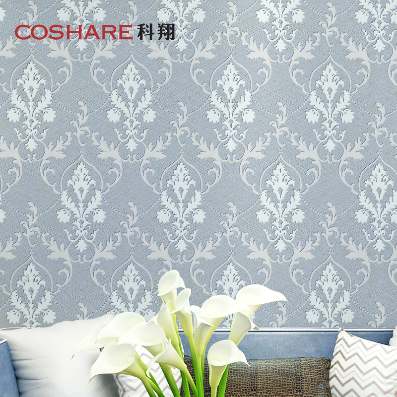 Coshare euclidian kexiang wallpaper wallpaper living room bedroom pearl inlay doris doris 3-ⅲ section [610]