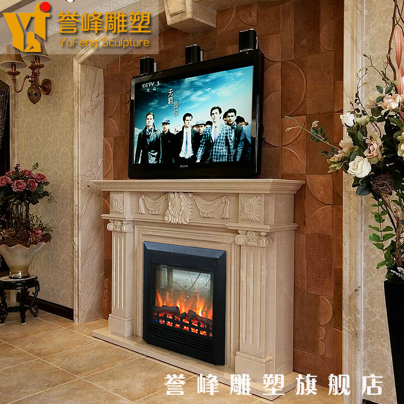 [Cosmos] marble fireplace mantel sculpture stone carving carved fireplace mantel fireplace decoration cabinet popularity euclidian