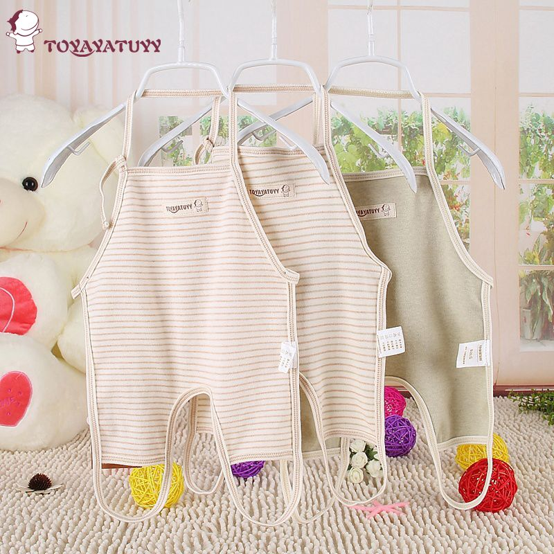 Cotton baby clothes newborn baby even foot apron baby care baby apron cotton apron apron cotton summer dress