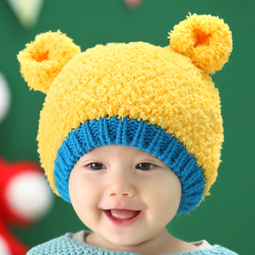 Cracking meters despair 2016 new children's hat baby hat baby hat autumn and winter ear hat baby hat hedging plus thick