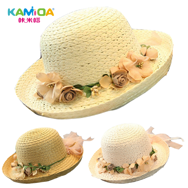 Cracking meters despair children girls sun hat beach hat straw hat girls summer sun hat sun hat baby hat