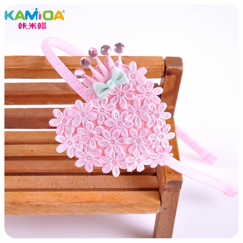 Cracking meters despair kamida spring and summer new korean children baby hair accessories hair bands crown clip jewelry girls head ornaments