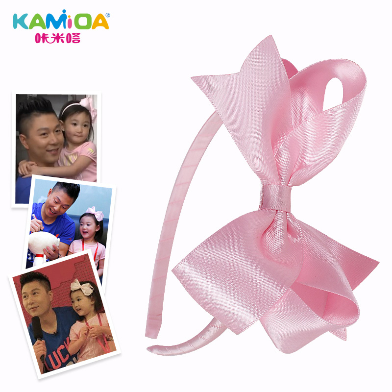 Cracking meters despair korean girls korean children headdress hair accessories for girls crown princess headband bow hair bands