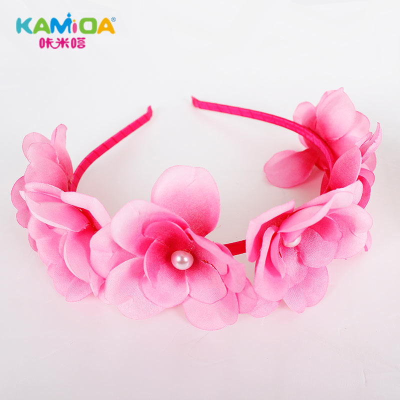 Cracking meters despair korean hair hoop headband headdress hair accessories for girls princess korean children headdress hair accessories diy materials