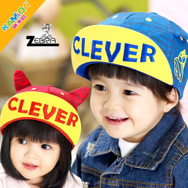 5d70f120373 Get Quotations · Cracking meters despair korean spring models for boys and  girls cap hat summer baby sun hat