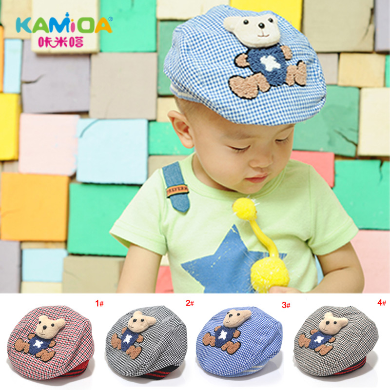 Cracking meters despair new korean children hat beret hat korean version of the 2016 children boys winter models shipping autumn tide