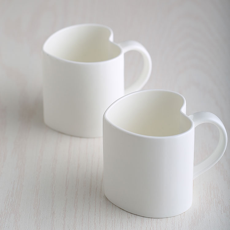 Creative simple ceramic cup mug couple cups bone china cup coffee cup ceramic cup milk