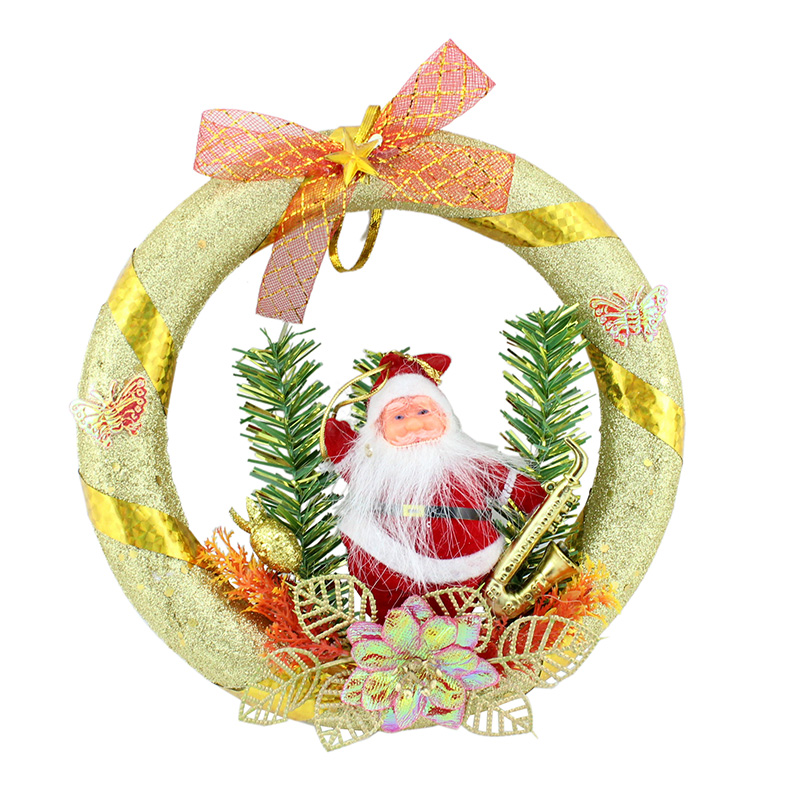get quotations creepy square christmas decorations foam 20cm cm christmas wreath christmas door hanging - Creepy Christmas Decorations