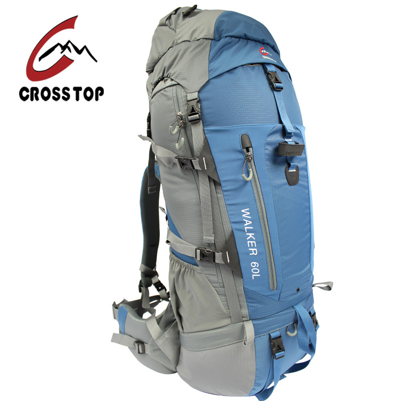 Crosstop authentic outdoor camping backpack shoulder bag men and women professional mountaineering bags 60l backpack reinstall the brigade line