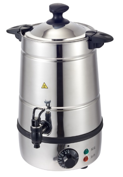 Crown le thermostat fast electric water boiler boiling bucket 5l large capacity stainless steel jug burn against dry shao shao Plumbing milk