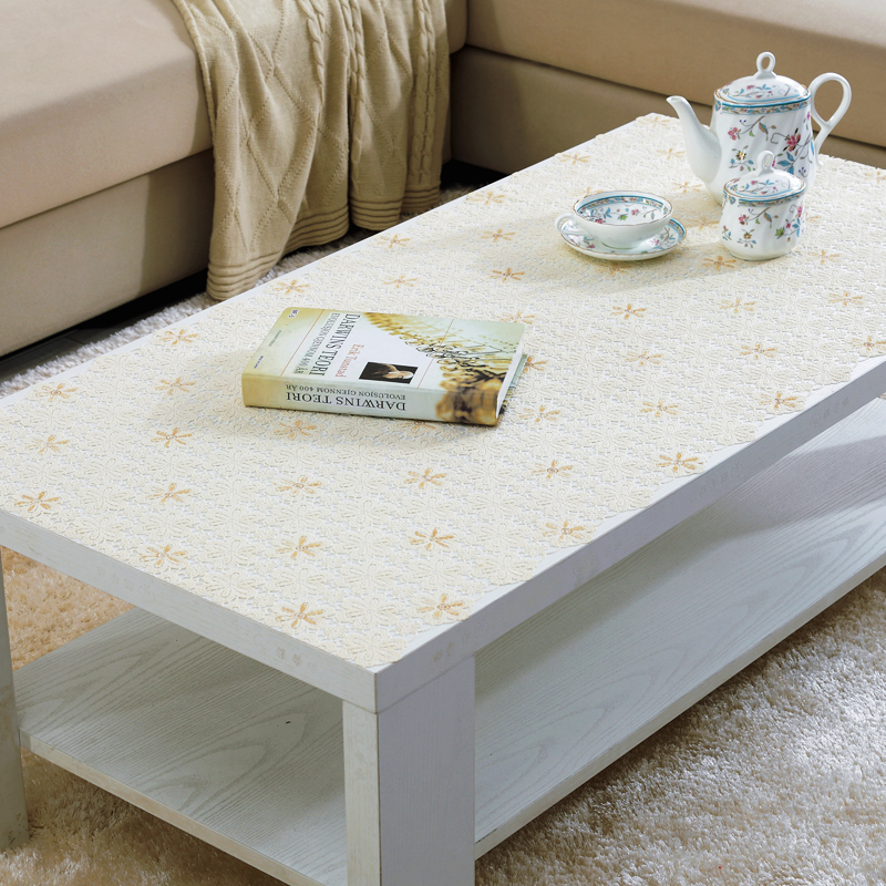 Unique Custom hollow pvc plastic tablecloths coffee table mat table cloth cover bedside table cloth cover cloth Photo - Review coffee table cover Photos