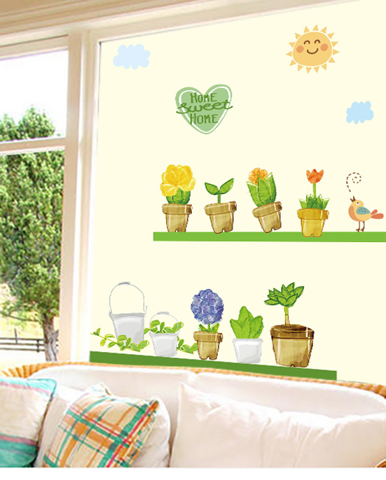 Custom stickers glass bathroom glass stickers affixed grilles uv window film to the glass sliding door wardrobe sliding
