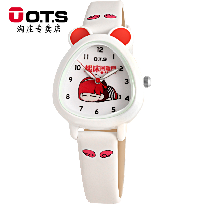 Cute cartoon watches kt cat cartoon baby girls students watch waterproof watch children watch children watch boys