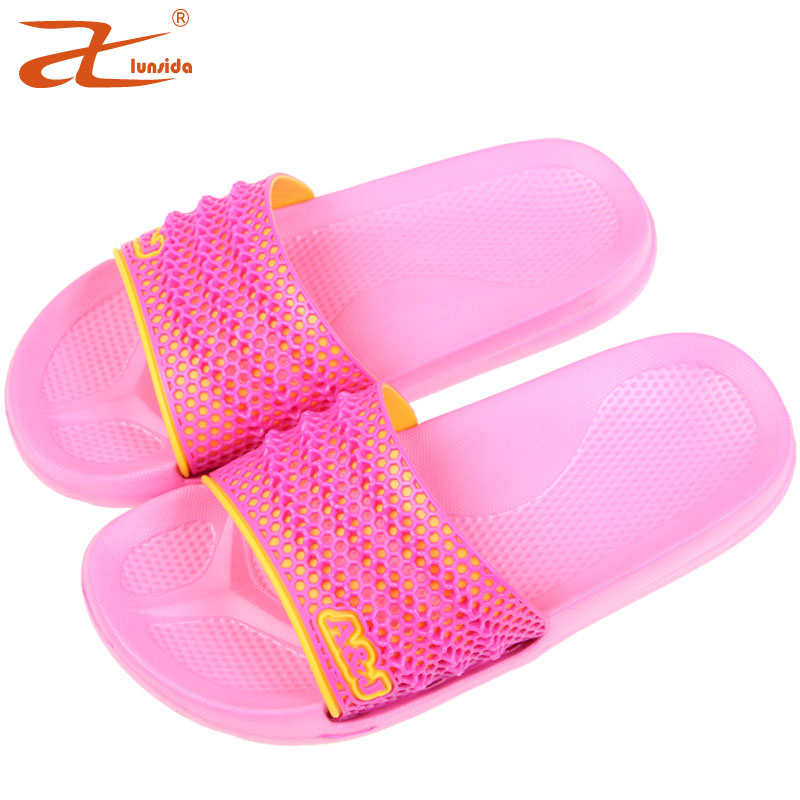 Cute summer sandals and slippers women slippers female summer indoor slippers couples slippers thick crust skid slippers home free shipping