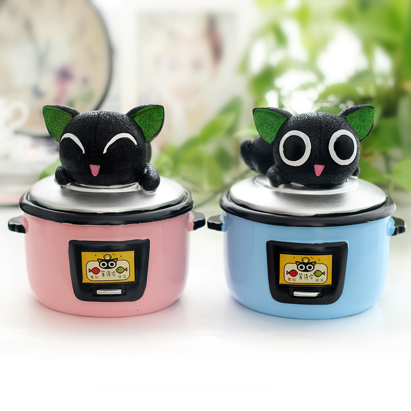 D creative novelty especially useful romantic cute rice cooker piggy bank to send boys and girls girlfriends birthday gift