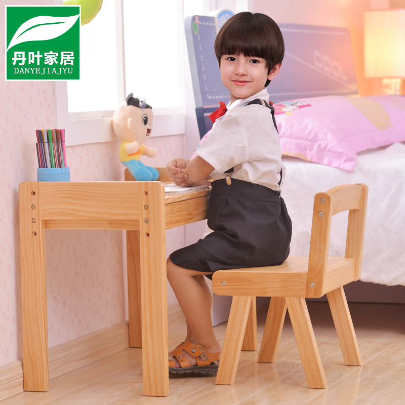 Dan leaves wood can lift children to learn tables and chairs kit home baby nursery children desk desk desk