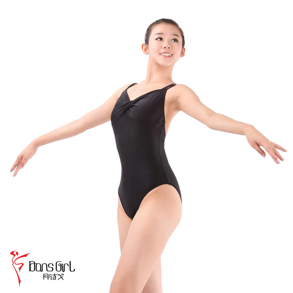 Dan poetry ge dance costume leotard ballet clothes and dance clothes 1734 former bond spandex body suit