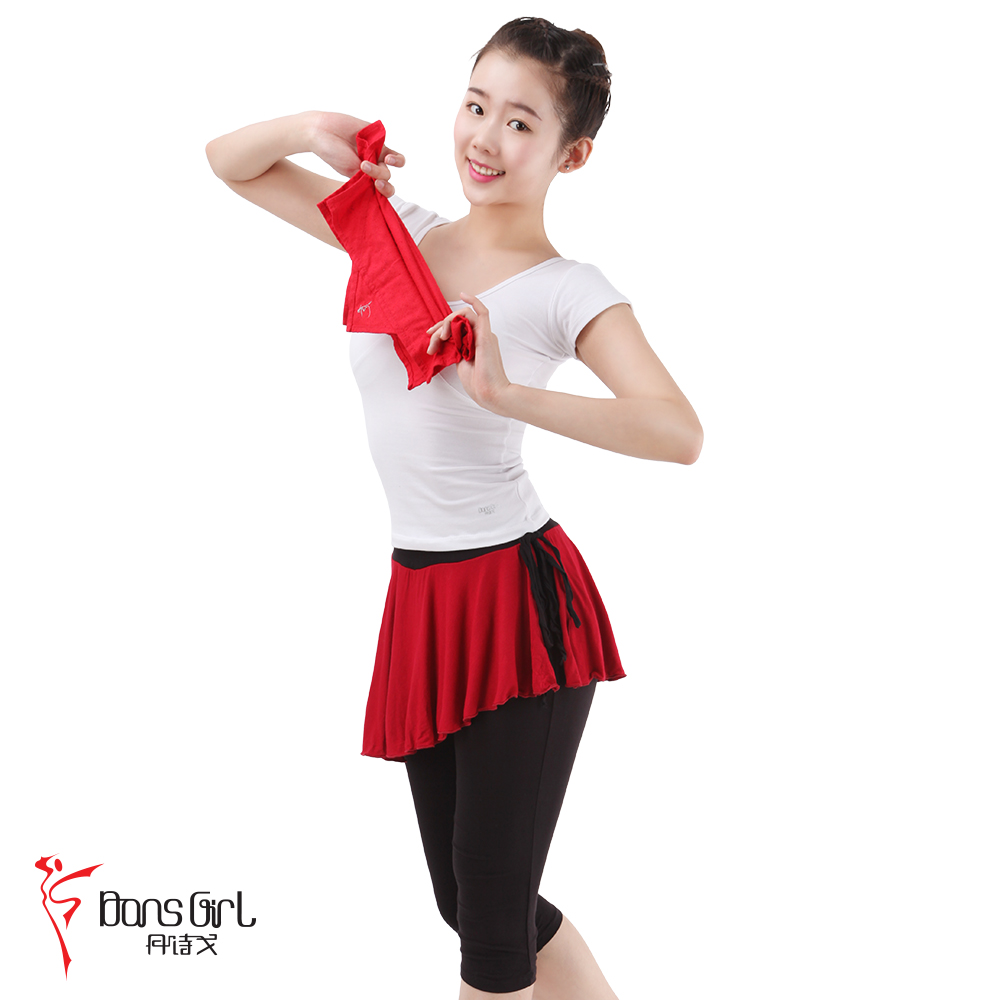 Dan poetry ge dance practice pants pants square dance mom pants WE02039 spell color oblique culottes