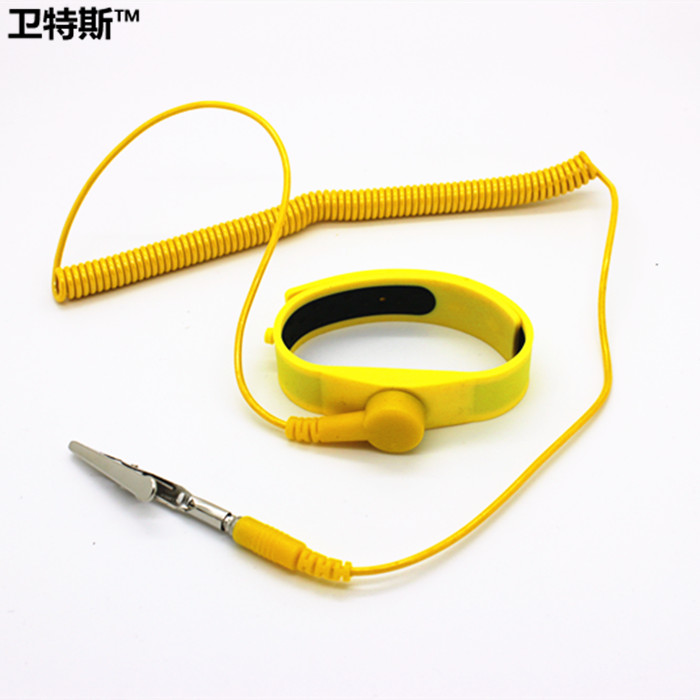 David waters silicone wired antistatic wrist strap corded antistatic wrist strap bracelet antistatic wrist strap can be adjusted