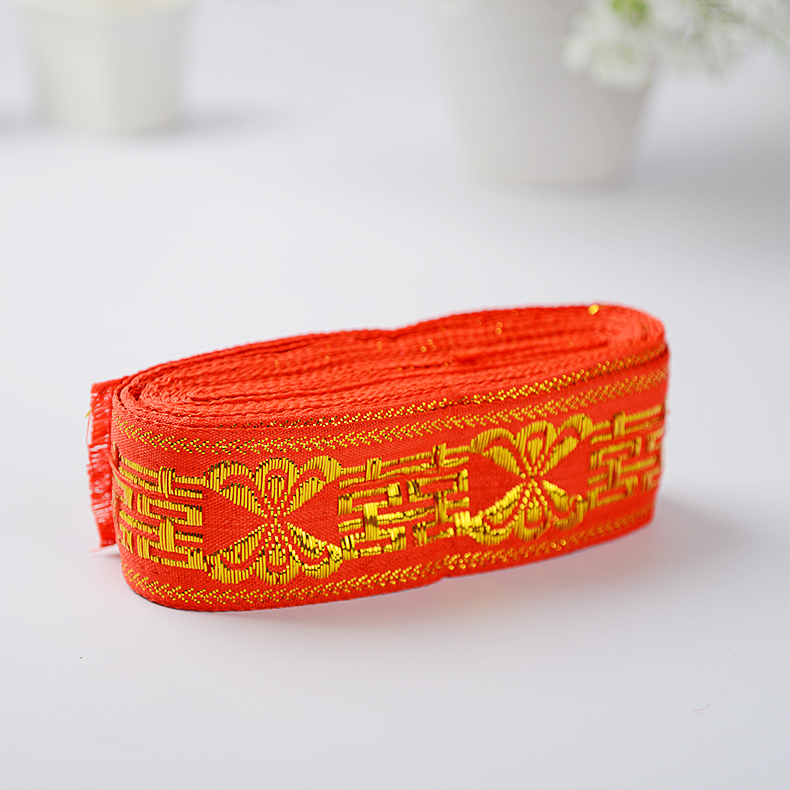 Days of margin wedding supplies red hot jin shuangxi bundle is belt tied with brocade wedding supplies specials