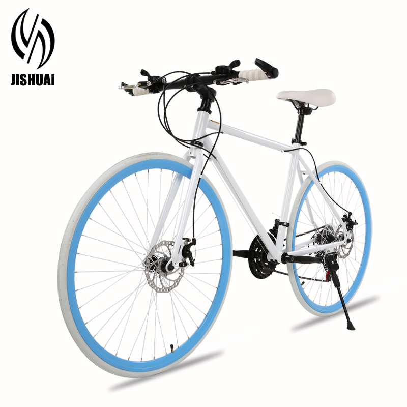 Dead fly bicycle bike 21 speed dual disc brakes shimano shifting car 26 students cycling road car vacuum tire