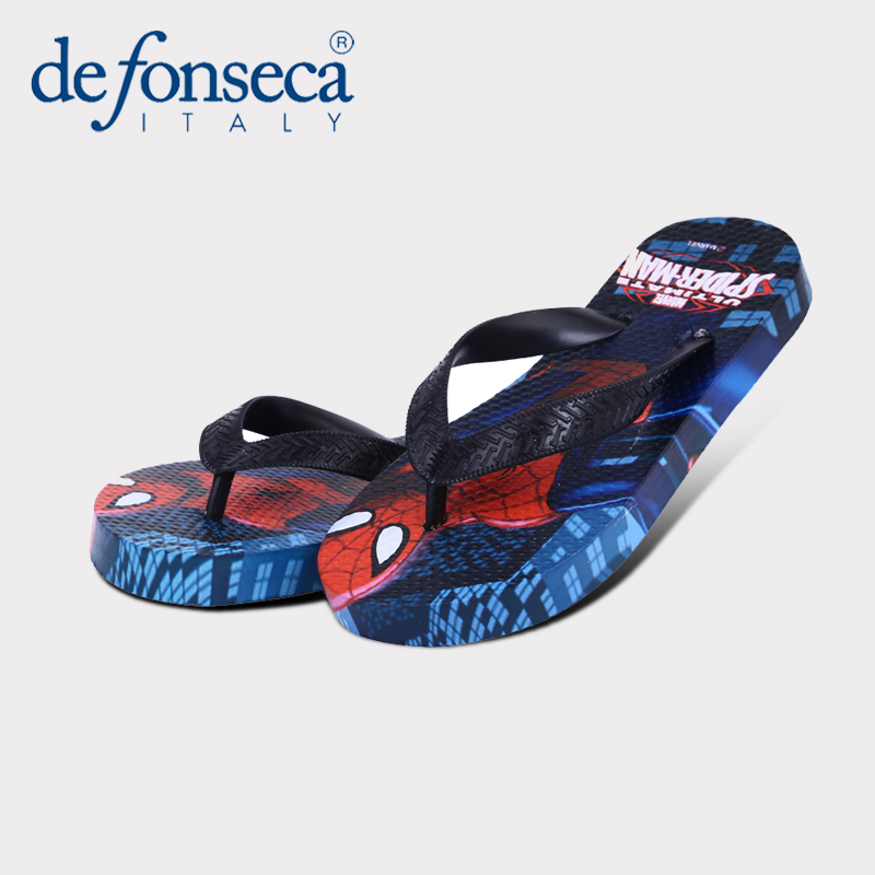 Defonseca children spiderman slippers male slippers summer flip flops slippers cartoon children skid slippers