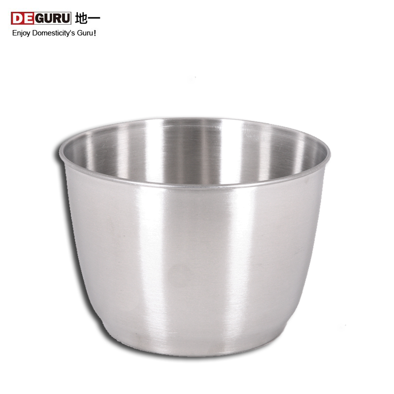 Deguru/to a thick quality stainless steel bowl beat egg bowl beat egg cream bucket mixing bucket baking supplies Tools