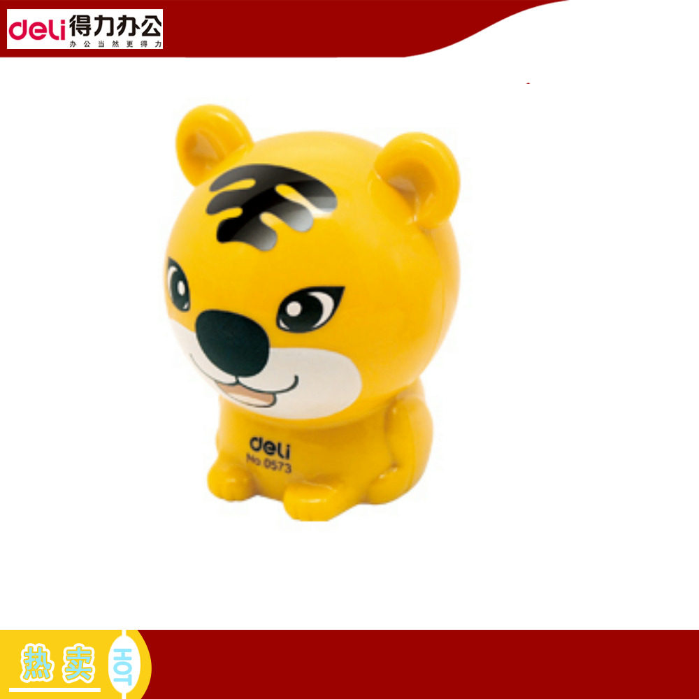 Deli 0573 mini cute baby tiger pencil sharpener pencil sharpener pencil sharpener korea creative pencil sharpener pencil sharpener student gift