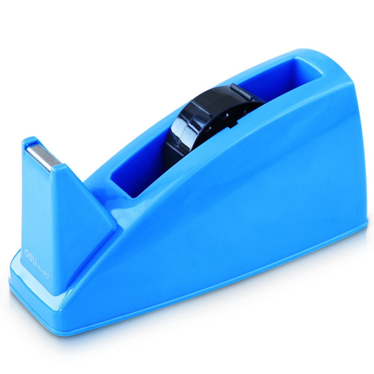 Deli 812 tape dispenser tape dispenser is suitable for large width 24mm tape sealing tape cutter device