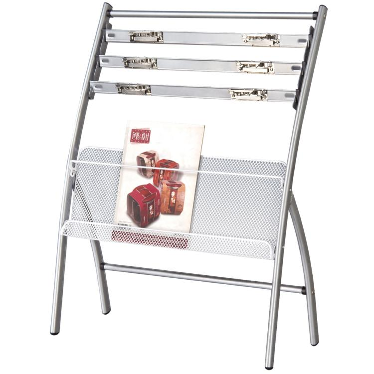 Deli 9301 newspaper rack newspaper magazine rack newspaper rack information display rack floor minimalist office reception