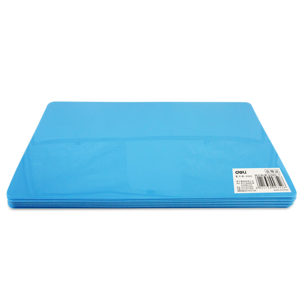 Deli stationery 9352 a5 writing pad replication pad lovely creative students exam information office supplies deli