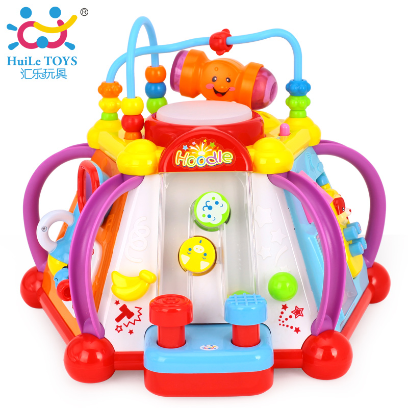 Department of music 806 happy little world multifunction infants and young children's educational toys baby early childhood game tables 1-3