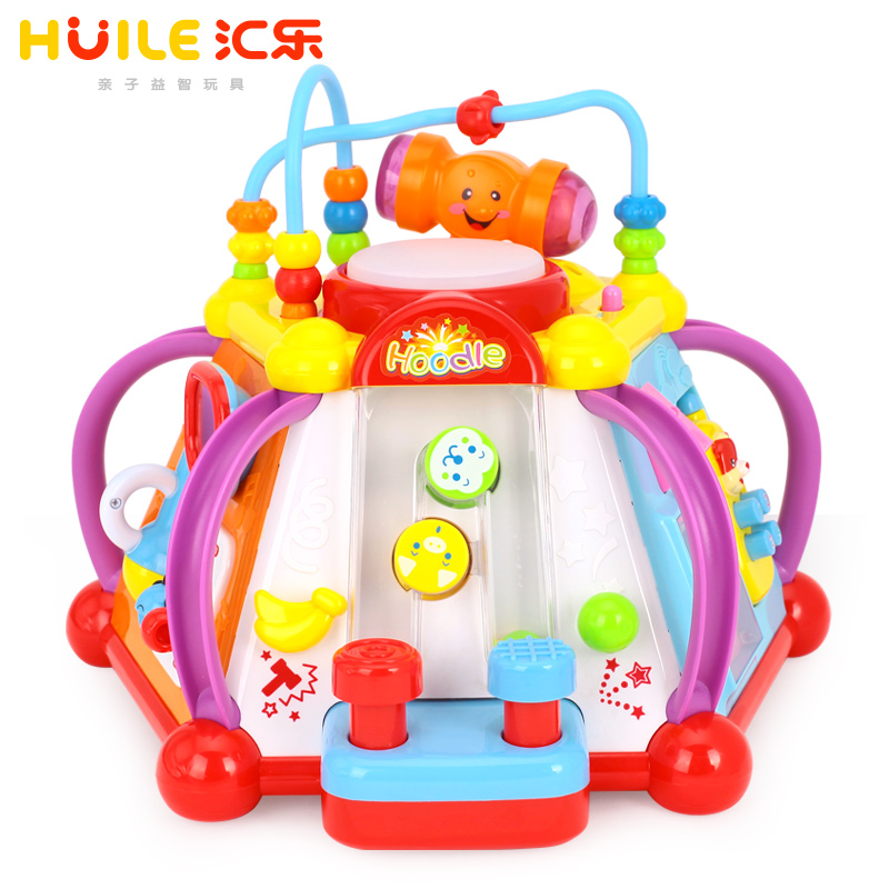 Department of music 806 happy little world puzzle infants and young children multifunctional toys taiwan years old baby early childhood game tables