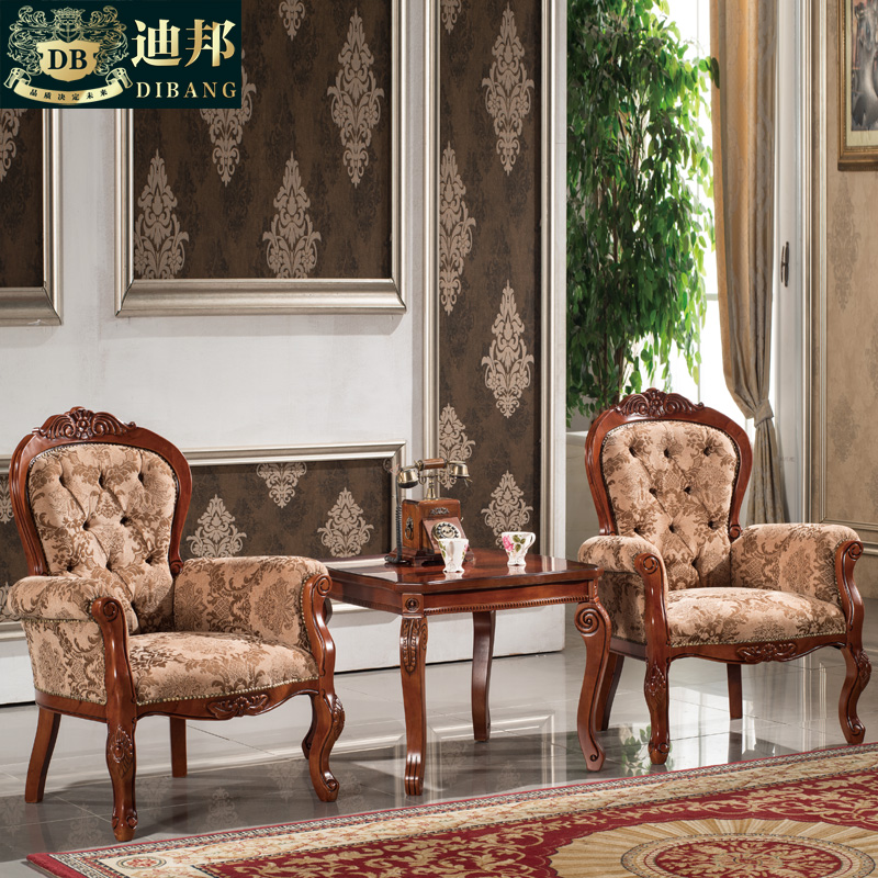 Dibang american negotiating tables and chairs tables and chairs lounge chair balcony leisure few euclidian cloth armchair chair chairs combination of tea a few