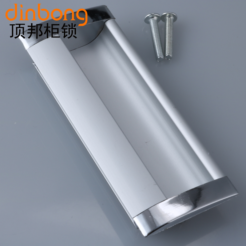 Dinbong dark aluminum handle 96 invisible dark handle aluminum handle file cabinet handle cabinet handle dark