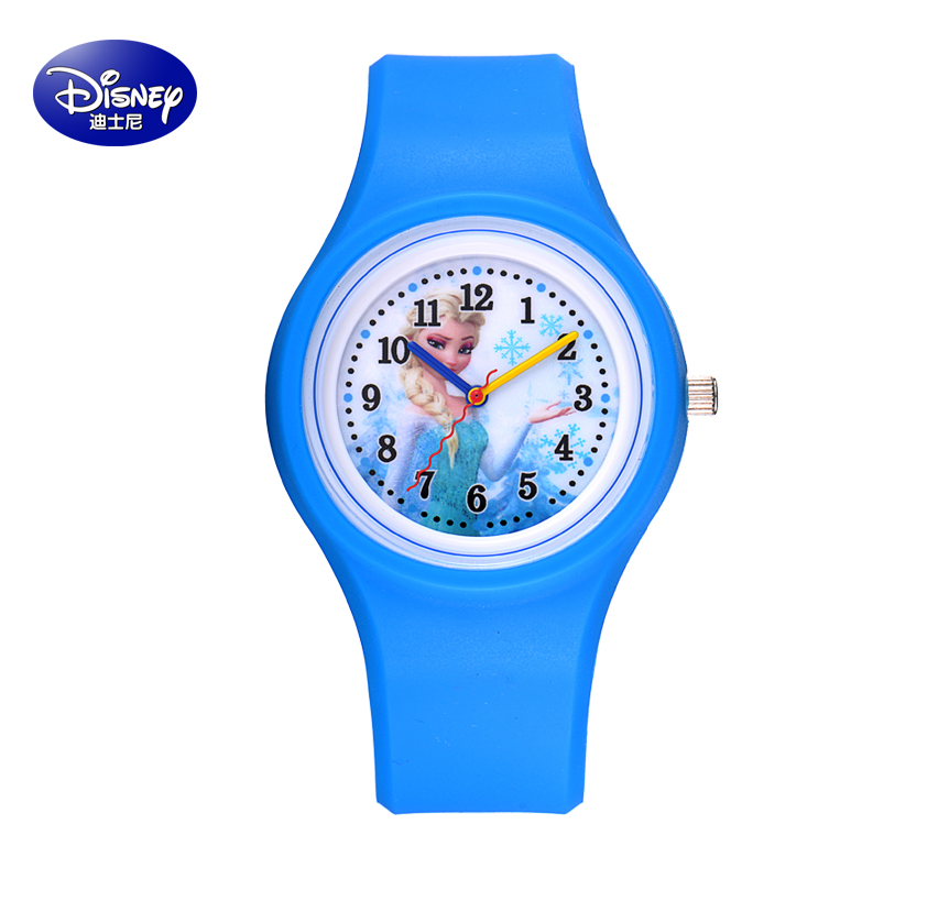 Disney watches girl child watches waterproof watch students jelly watch girls watch disney mickey cartoon girls