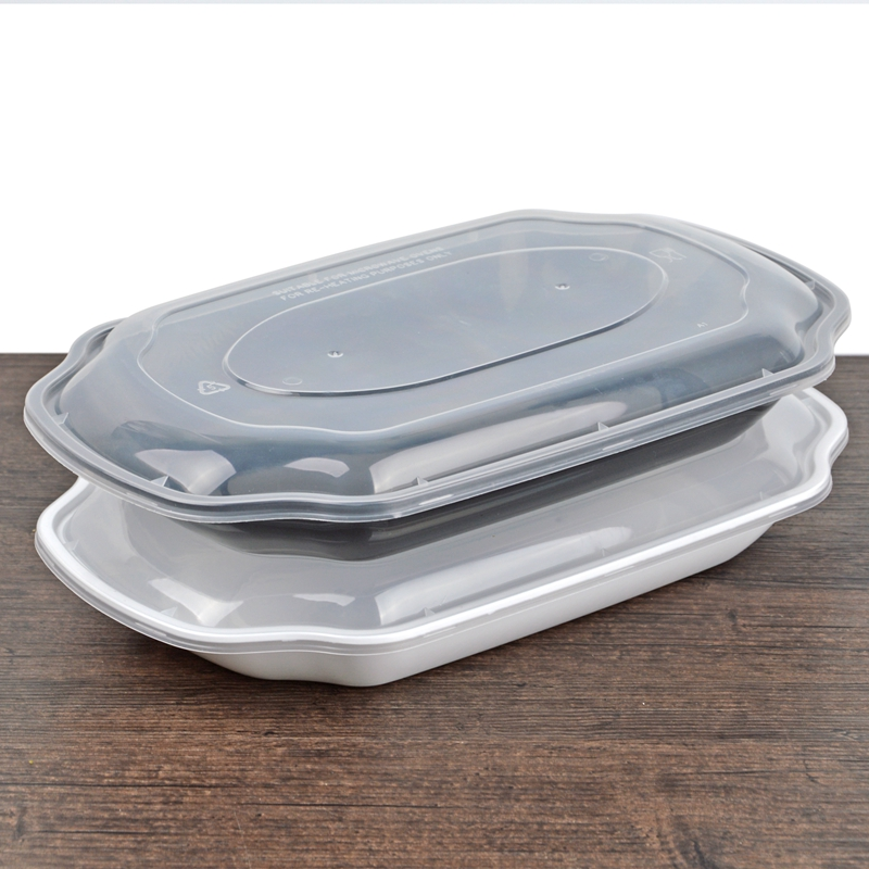 Disposable fast food delivery box box box fish box with lid large fish takeaway lunch box