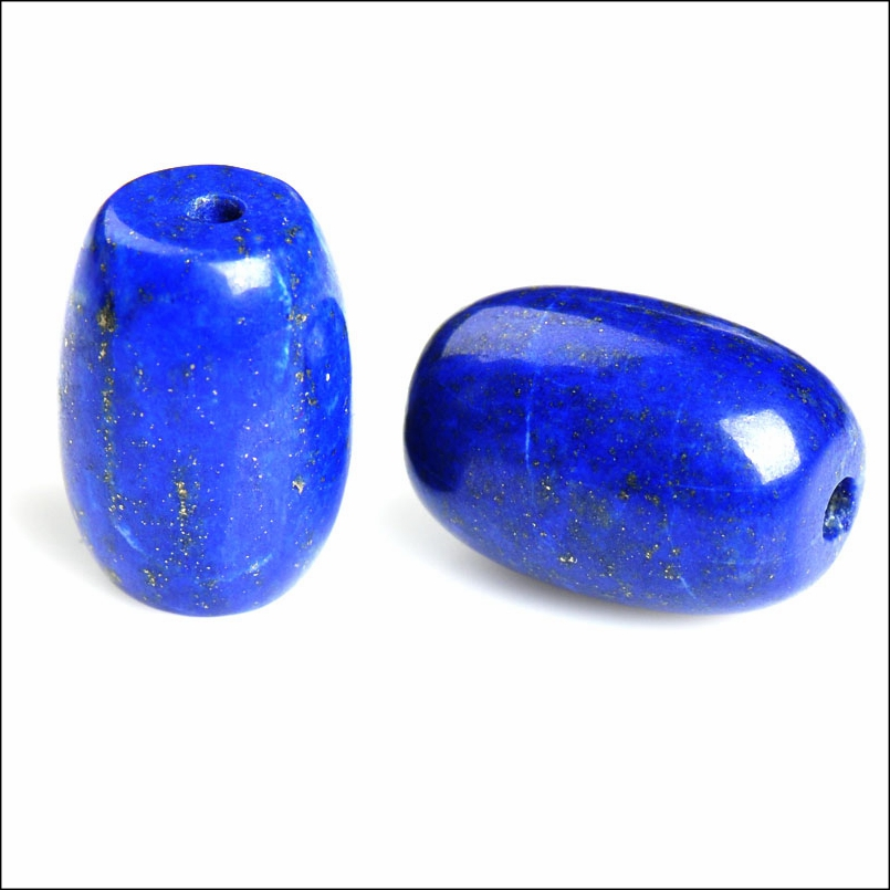 Diy loose beads natural lapis lazuli beads loose beads aaa afghan lapis lazuli imperial qing less and less white gold