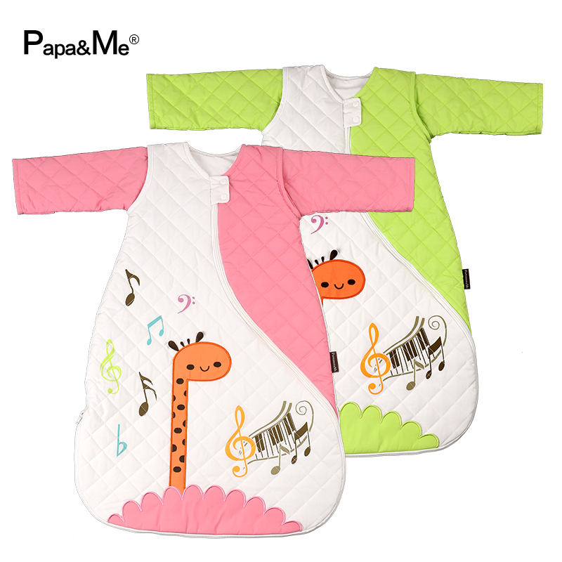 Dongkuan baby sleeping bag kick baby sleeping in spring and autumn sleeping bags legs child anti tipi thick cotton