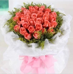 Dongsheng florist flowers 33 red roses pink roses white rose flower delivery the same city alashan wuqiao county