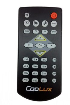 Donpv cool tv a2/a3 projector, COOLUX-A2/a3 projector dedicated remote control