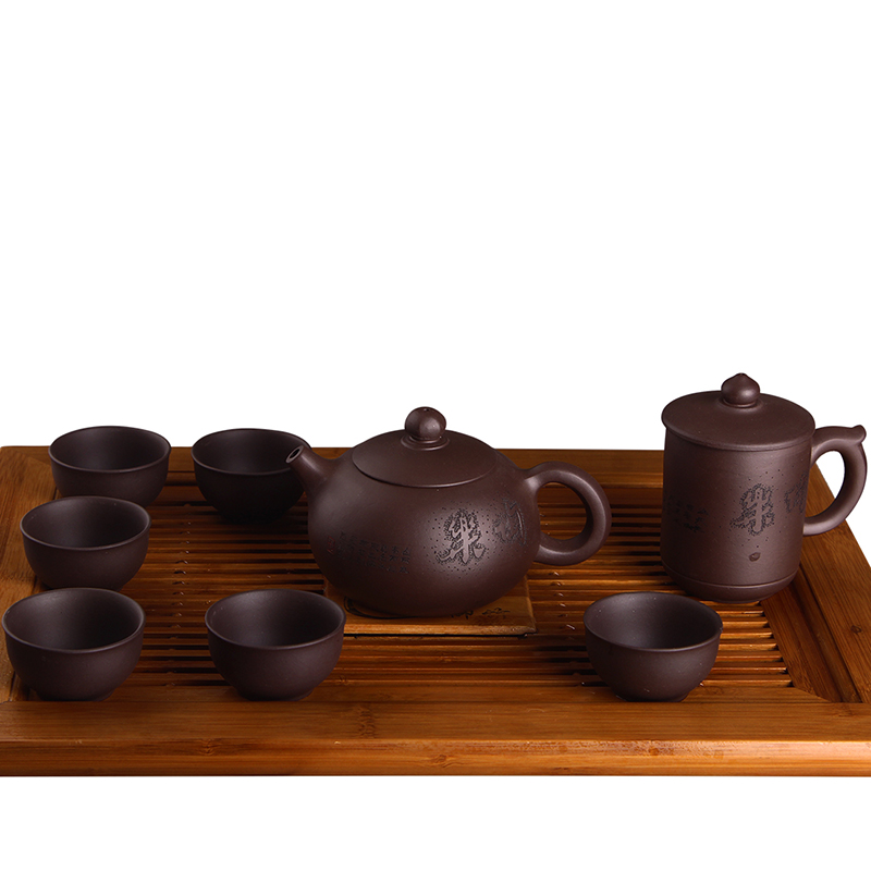 Dorothy yixing purple clay ore genuine kung fu tea entire cup teapot ceramic tea set special offer hyz  y