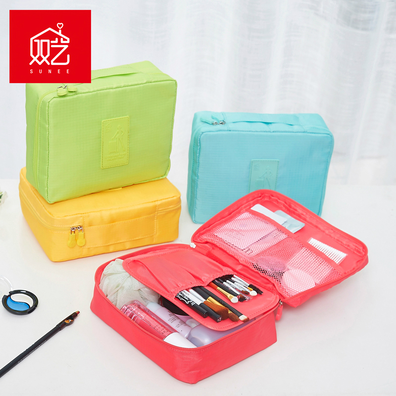 Double arts home travel portable multifunctional cosmetic bag cosmetic bag storage bag pouch bags finishing 70975