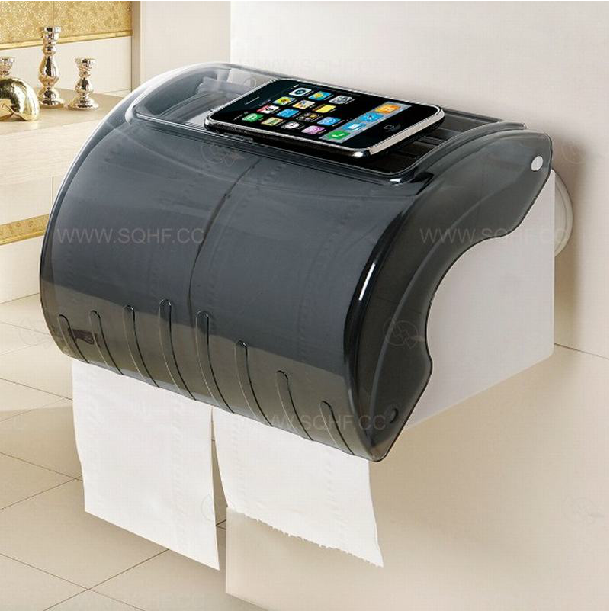 Double celebration powerful suction waterproof glove towel rack health carton reel spool toilet tissue box free punch
