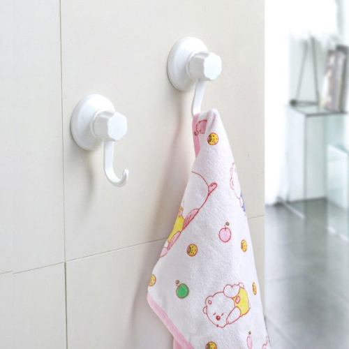 [Double celebration] small suction cup hook 1926 simple and powerful suction debris hanging hook multifunction (2 pack)