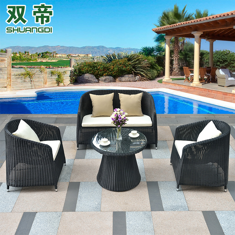 Balcony Patio Furniture Get Quotations Double Di Clubhouse Balcony Outdoor Furniture Rattan Sofa Leisure And Chairs Metric Indoor Patio