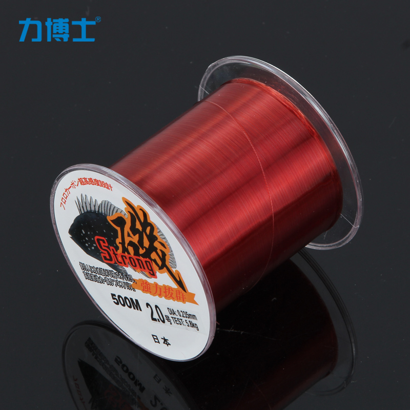 Dr. force red 500 m angeles fishing line fishing line fishing line fishing line nylon fishing line fish thread